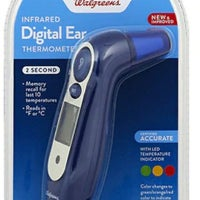 Walgreens Thermometers For Kids Mercari Puede realiza medición de temperatura en frente, oído sin correr riesgo de infección lectura instantánea: walgreens infrared digital ear thermomet