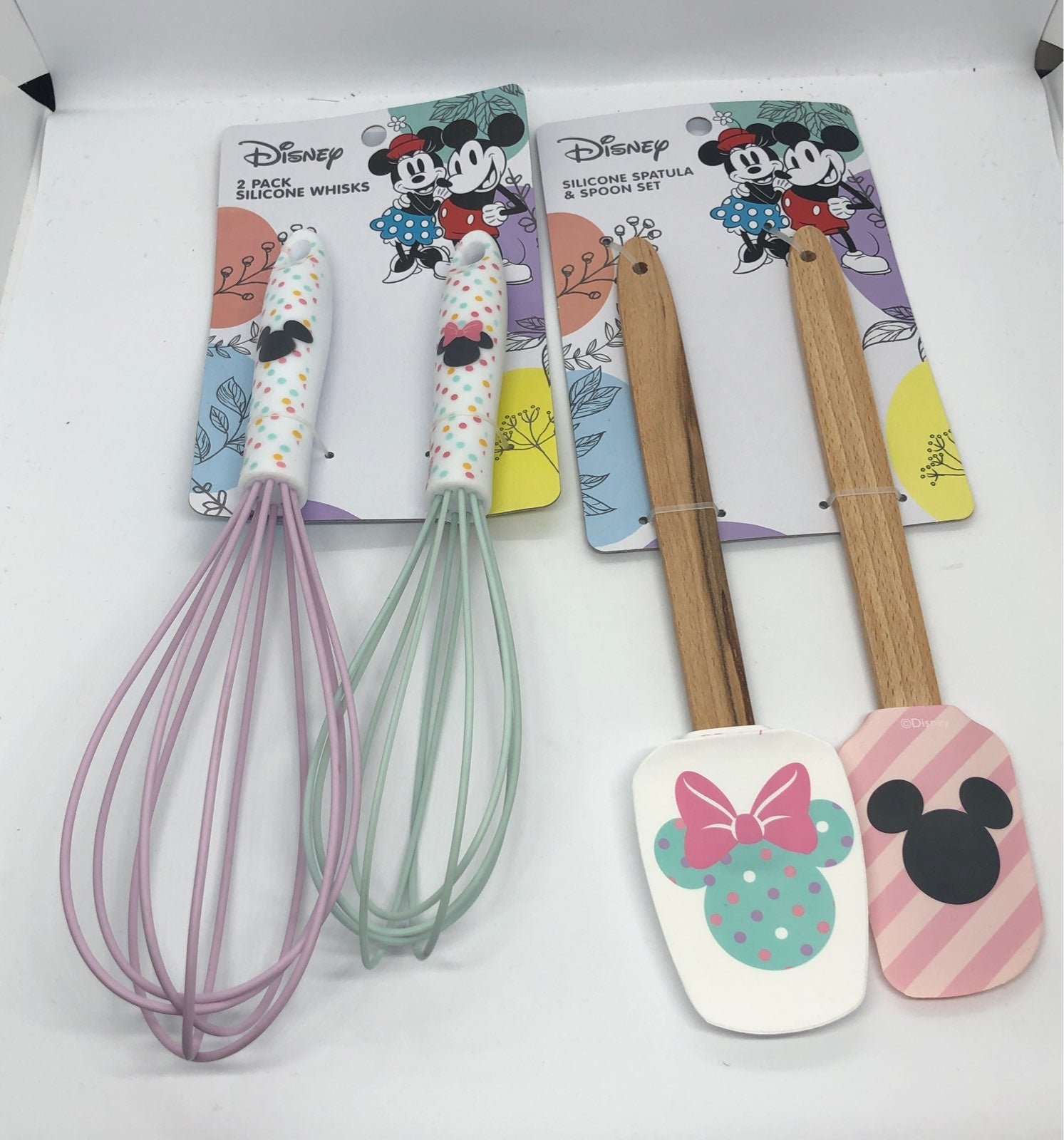 Mickey Minnie Whisk & spatula Set