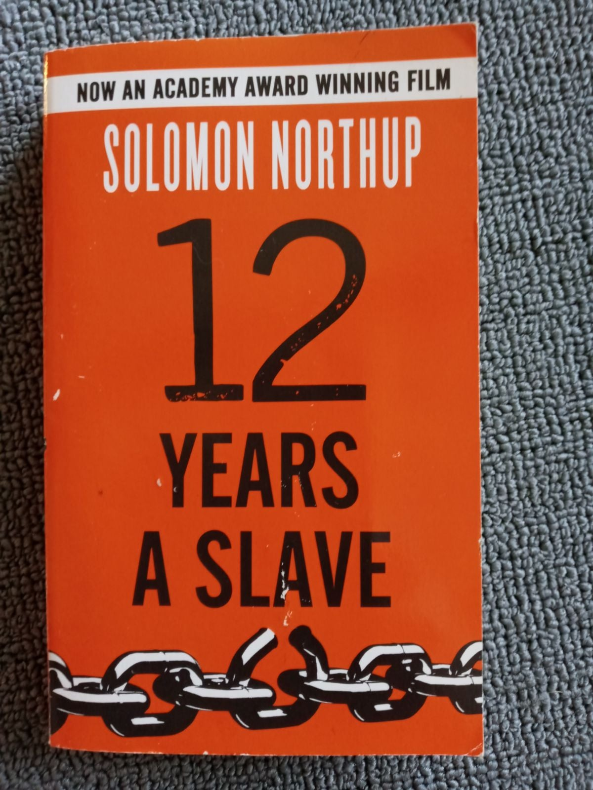 Book 12 years a Slave