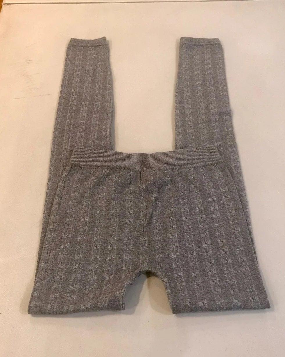Women's SZ S/XS Flannel Gray Leggings