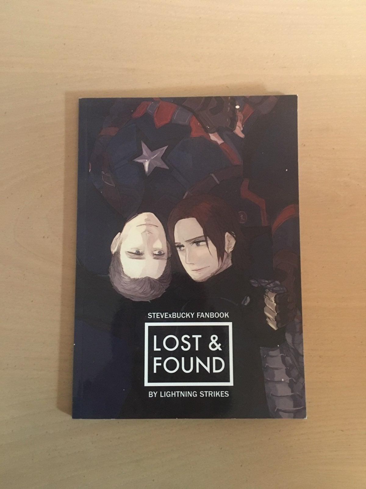 Marvel Steve & Bucky Fanbook