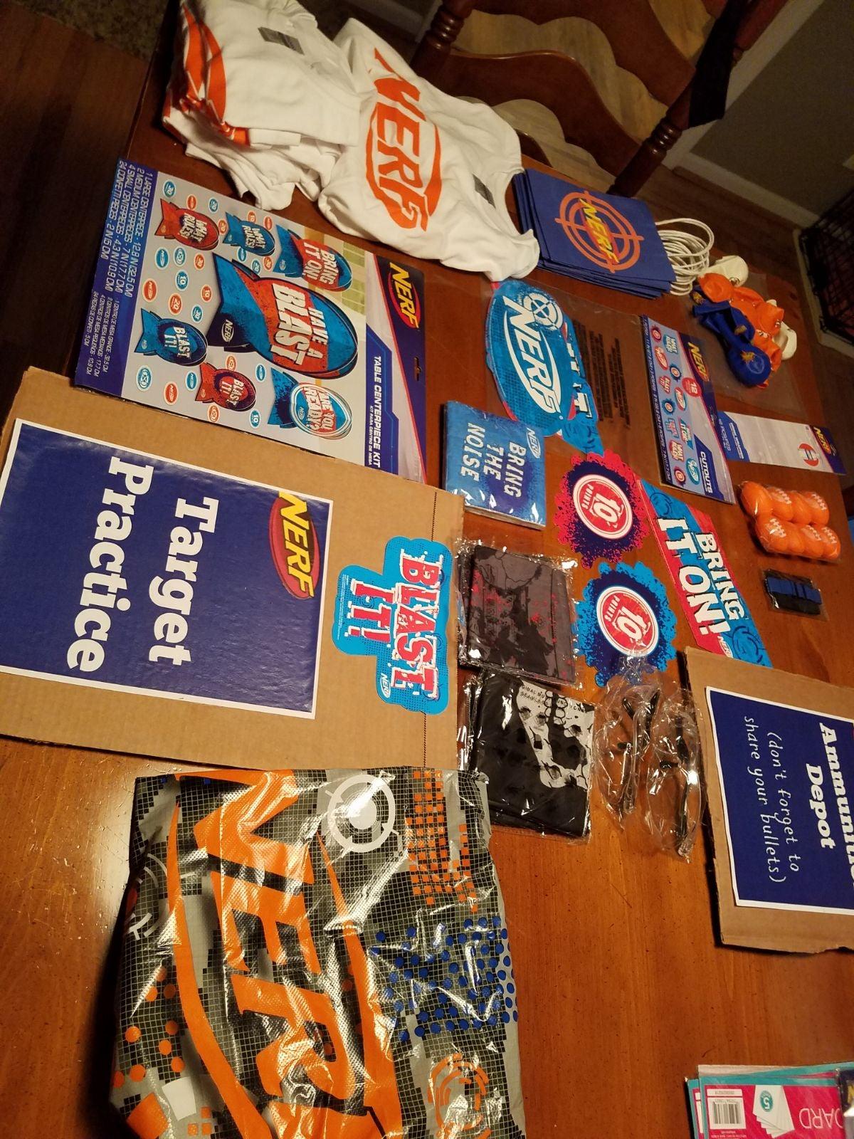 Nerf Gun Party Supplies