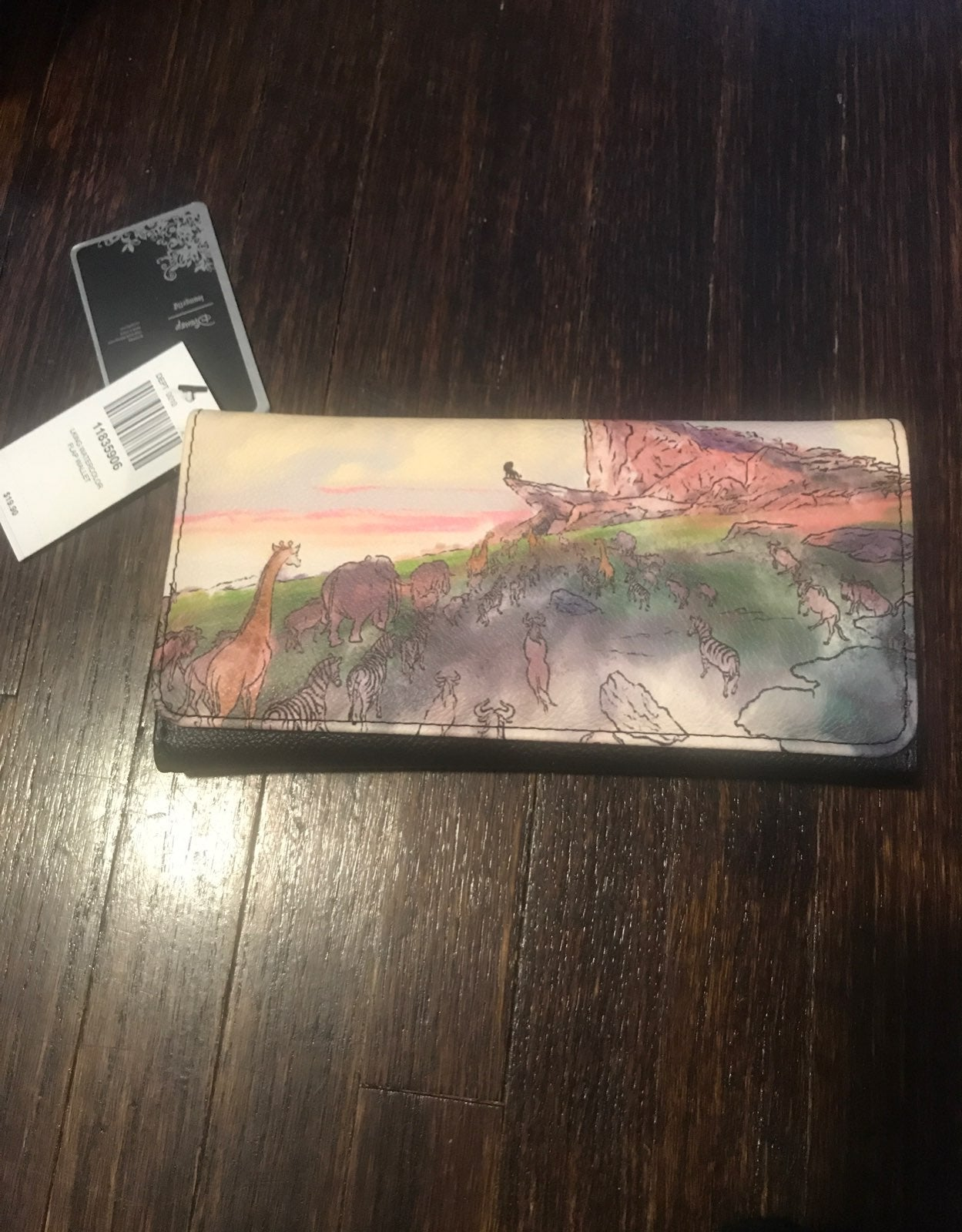 Disney Lion King Loungefly Wallet