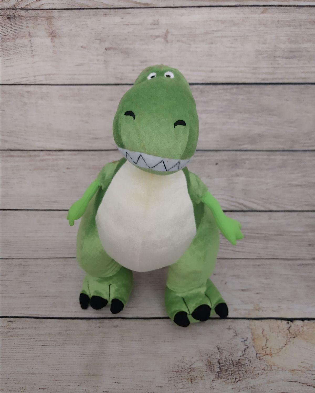 "DISNEY STORE Toy Story T-Rex Plush 13"""
