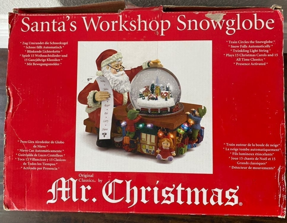 Mr. Christmas Santa's Workshop Collect