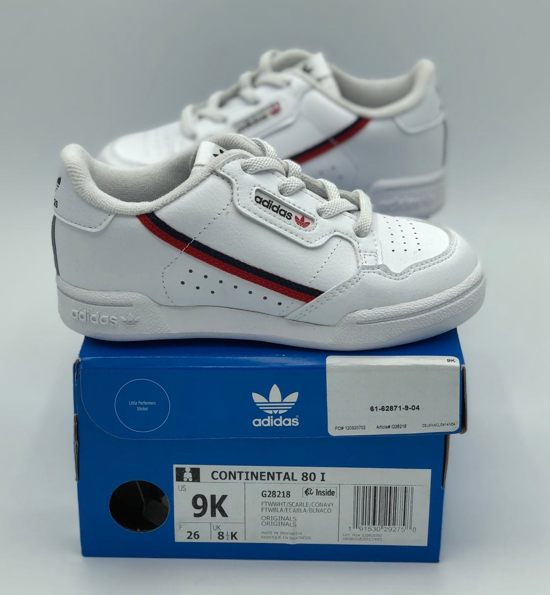 Kids Adidas Continental 80 shoes