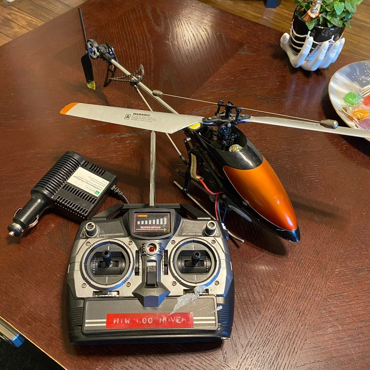 FBL RTF RC Electric Helicopter Used