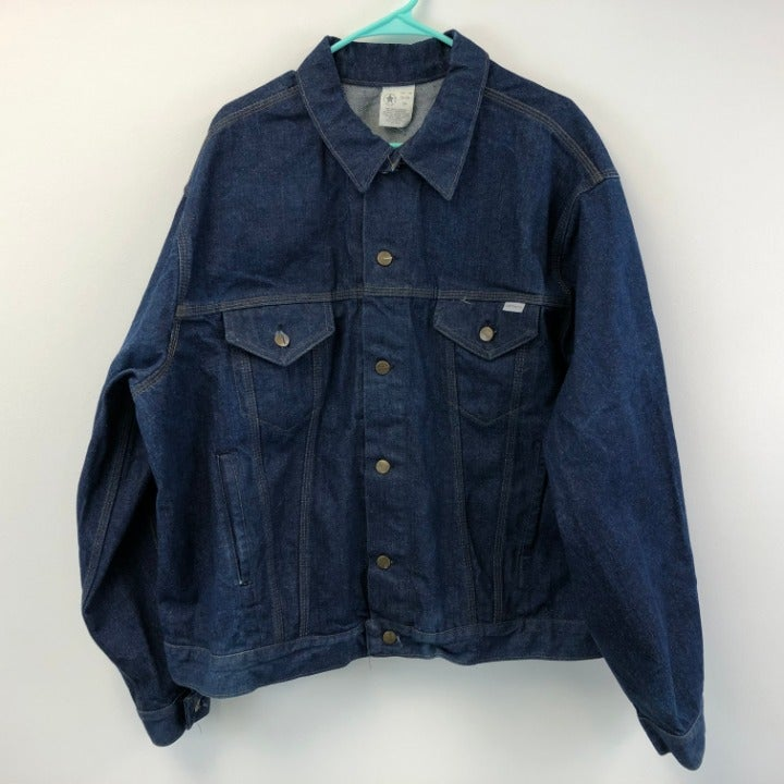 Vintage Carhartt Denim Blue Jean Size 54