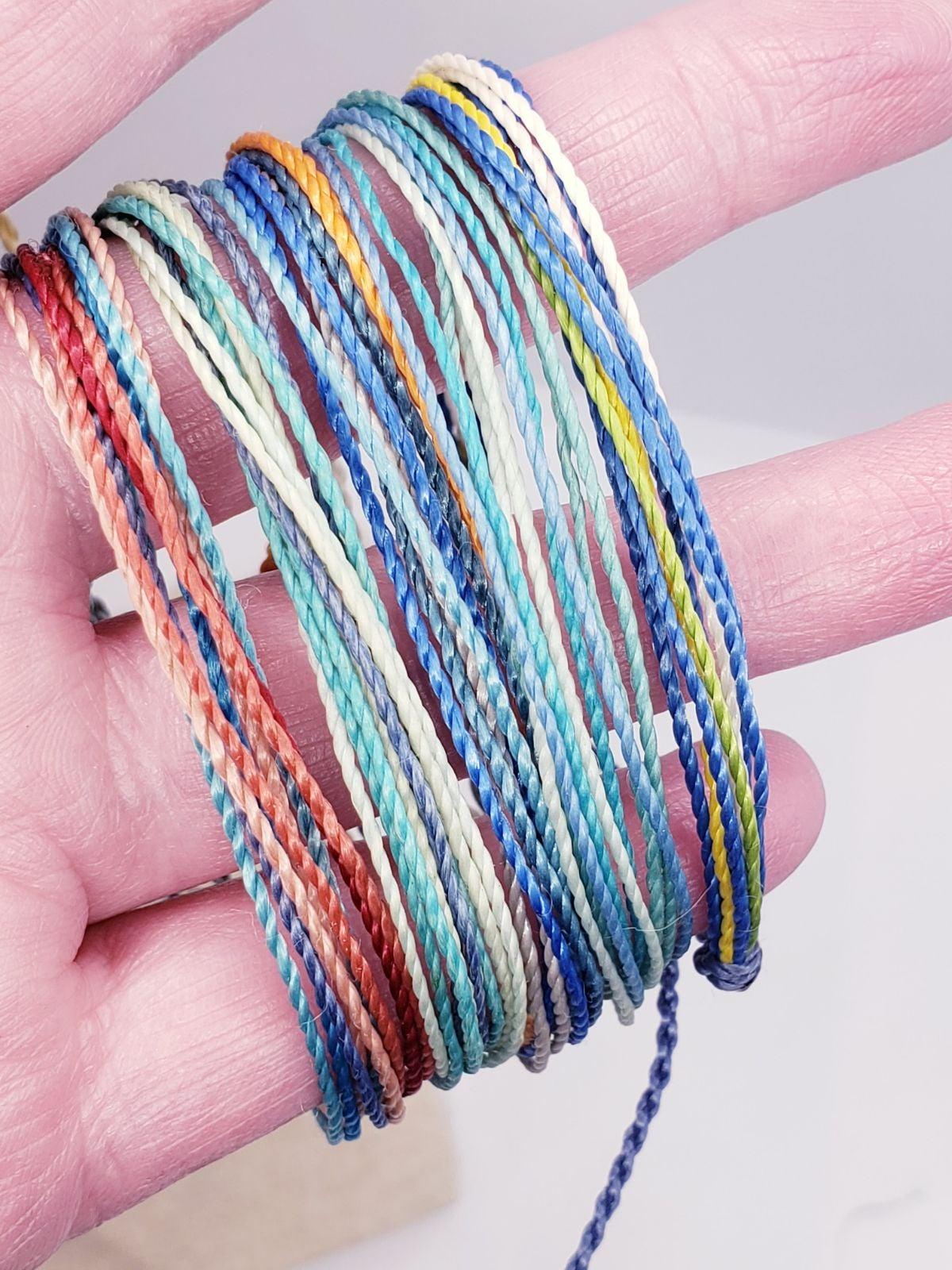 5 Pura Vida bracelets