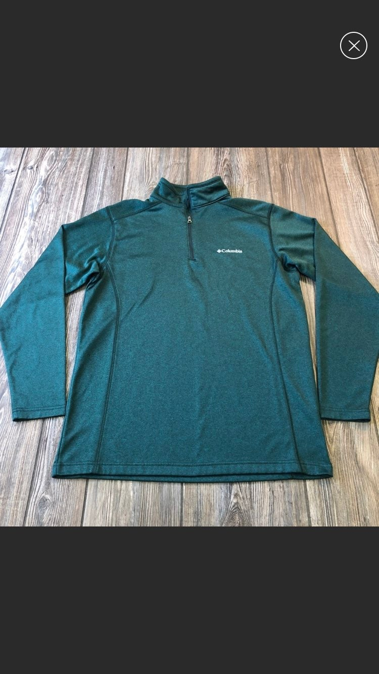 Columbia 1/4 Zip Small Mens Pullover