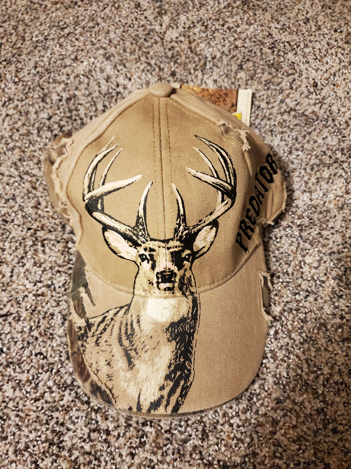 Buckwear Realtree Deer Predator NWT ball