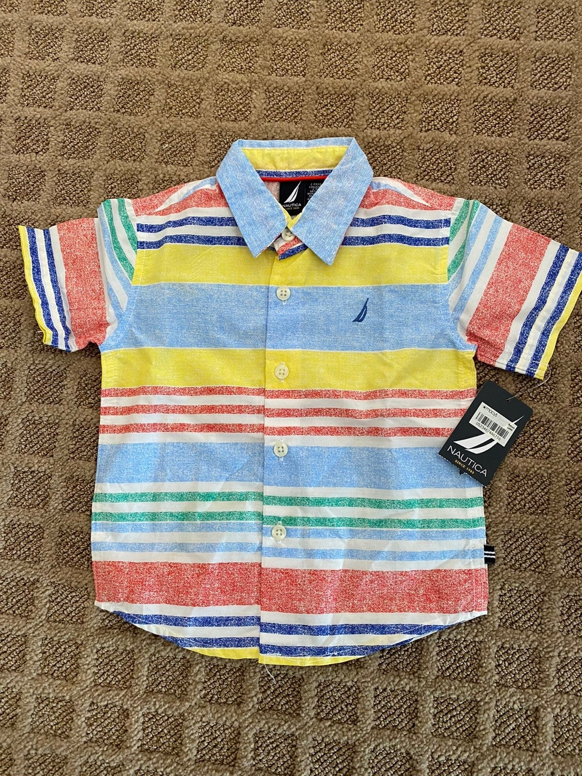 New Nautica polo shirt top 24 months