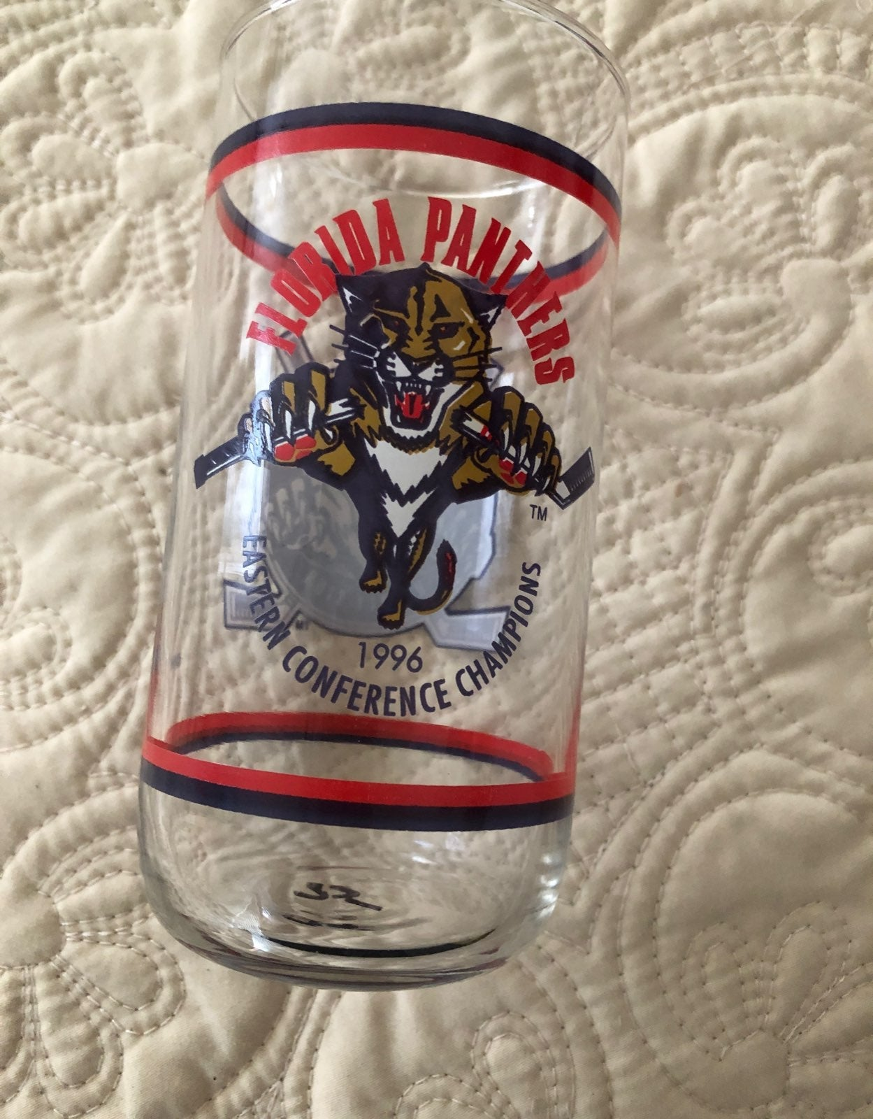 Florida Panthers Glass