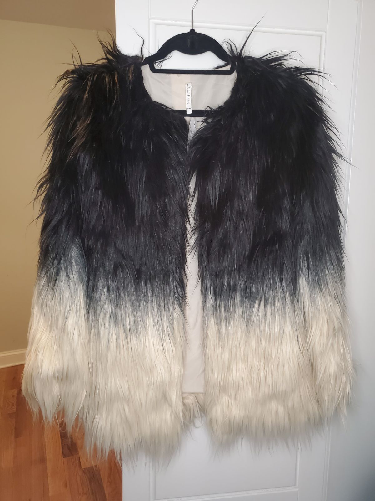 NWT Nordstrom Faux Fur Coat