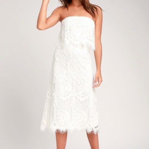 Lulu's Strapless Dress
