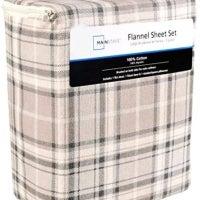 Mainstays Flannel Sheets Pillowcases Mercari