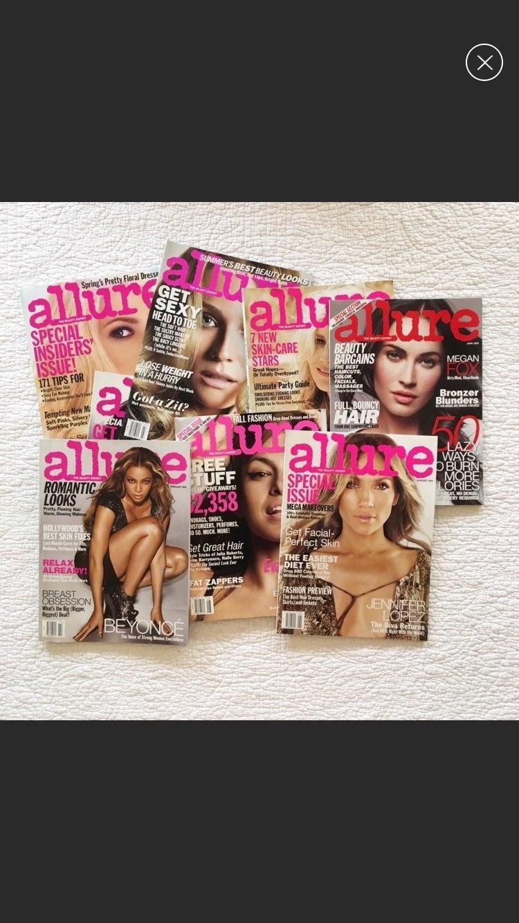 8 Allure Magazine's Beyoncé Eva Mendez J