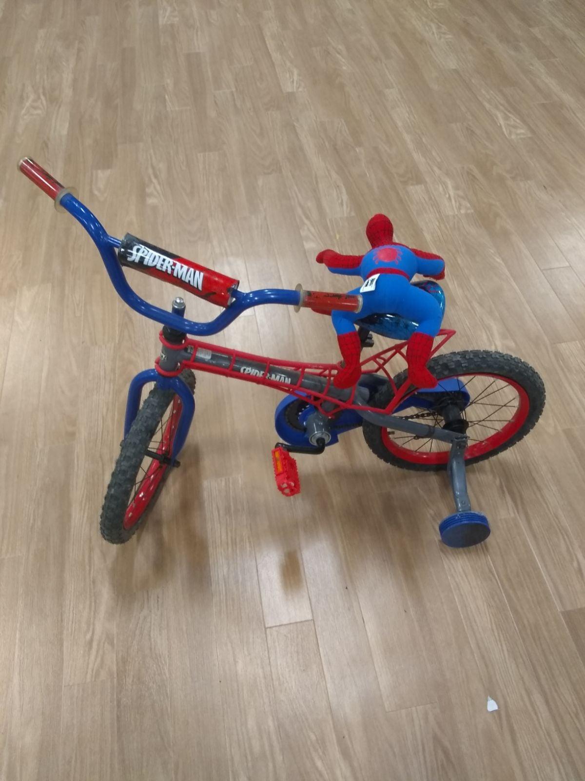 Huffy spiderman bike kids