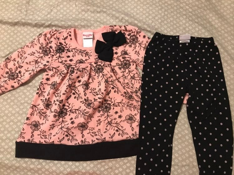 Toddler girl outfit 4T