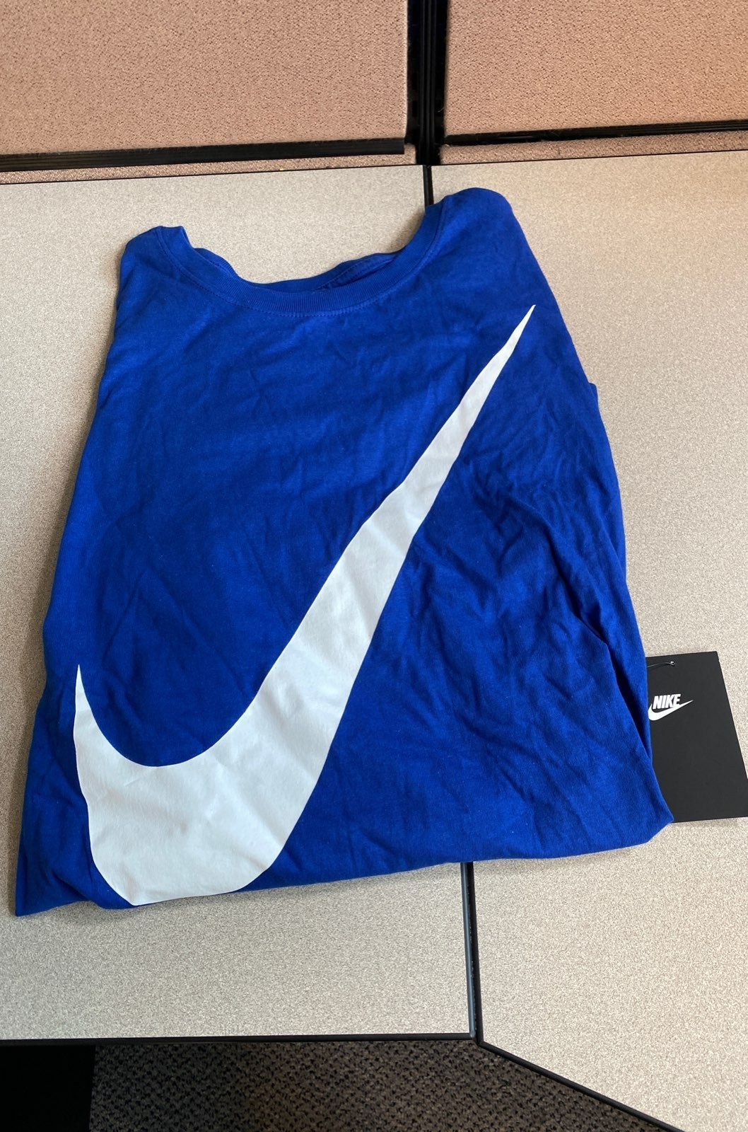 Mens Nike Tee With Large Swoosh-2XL
