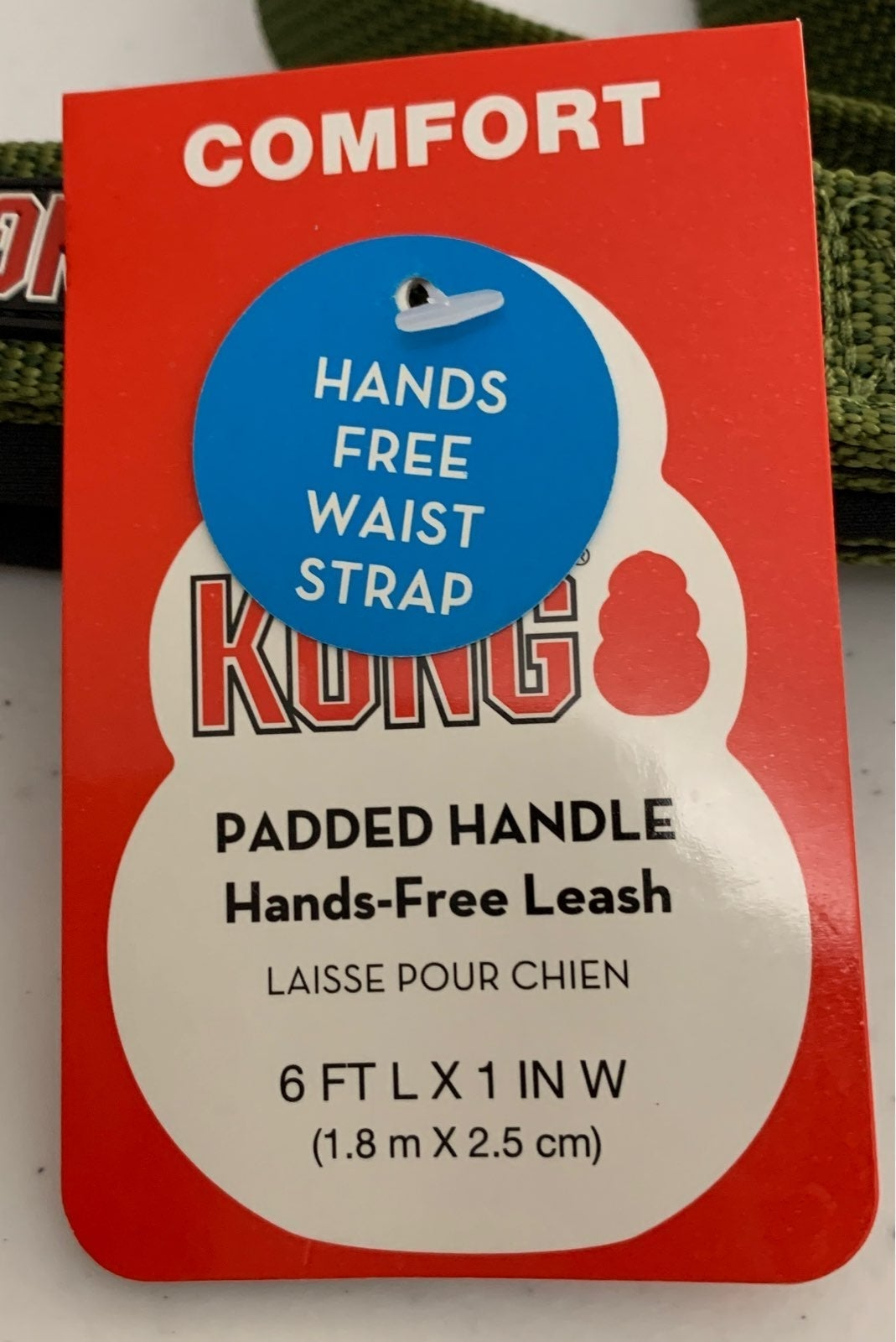 Kong Padded Handle Hands-FreeLeash