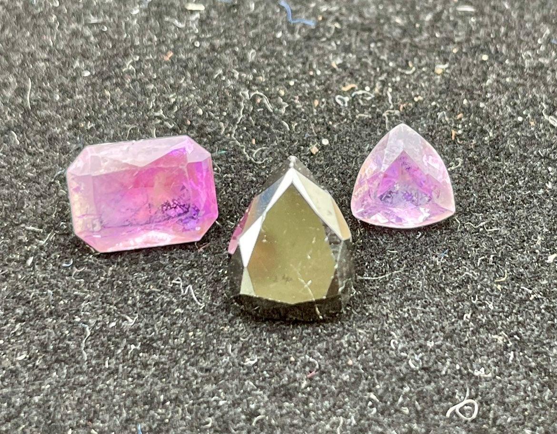 Black Diamond 1.7CTTW & Amethyst 1.95CTT