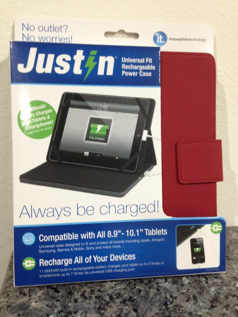 Justin rechargeable Power & ikeep charge