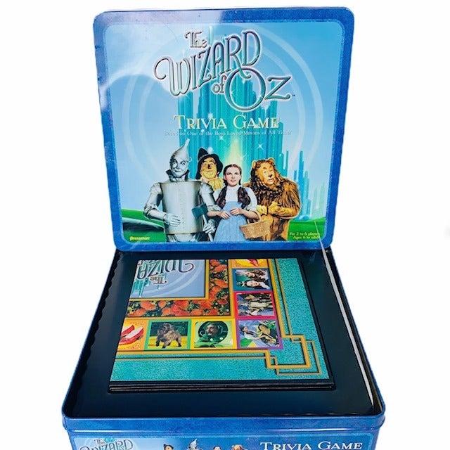 Wizard Oz Trivia board Game vtg Pressman