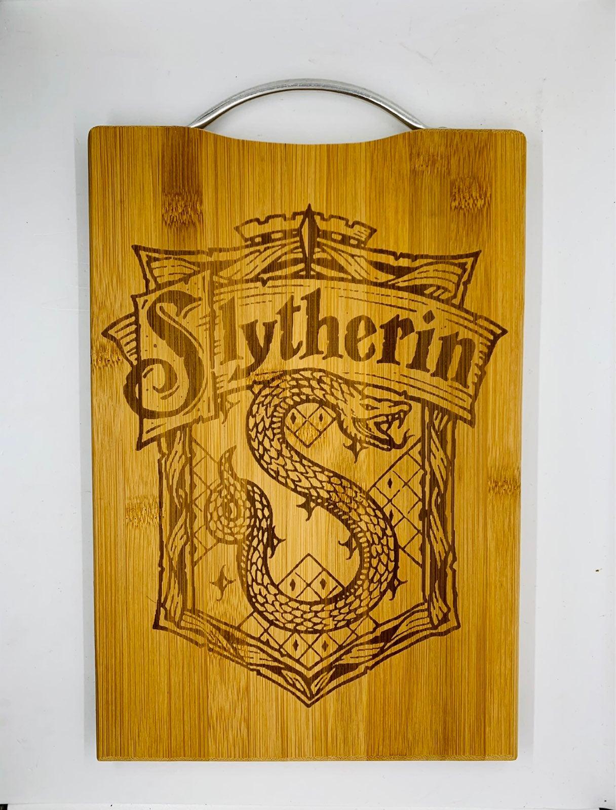 Harry potter Slytherin engraved board