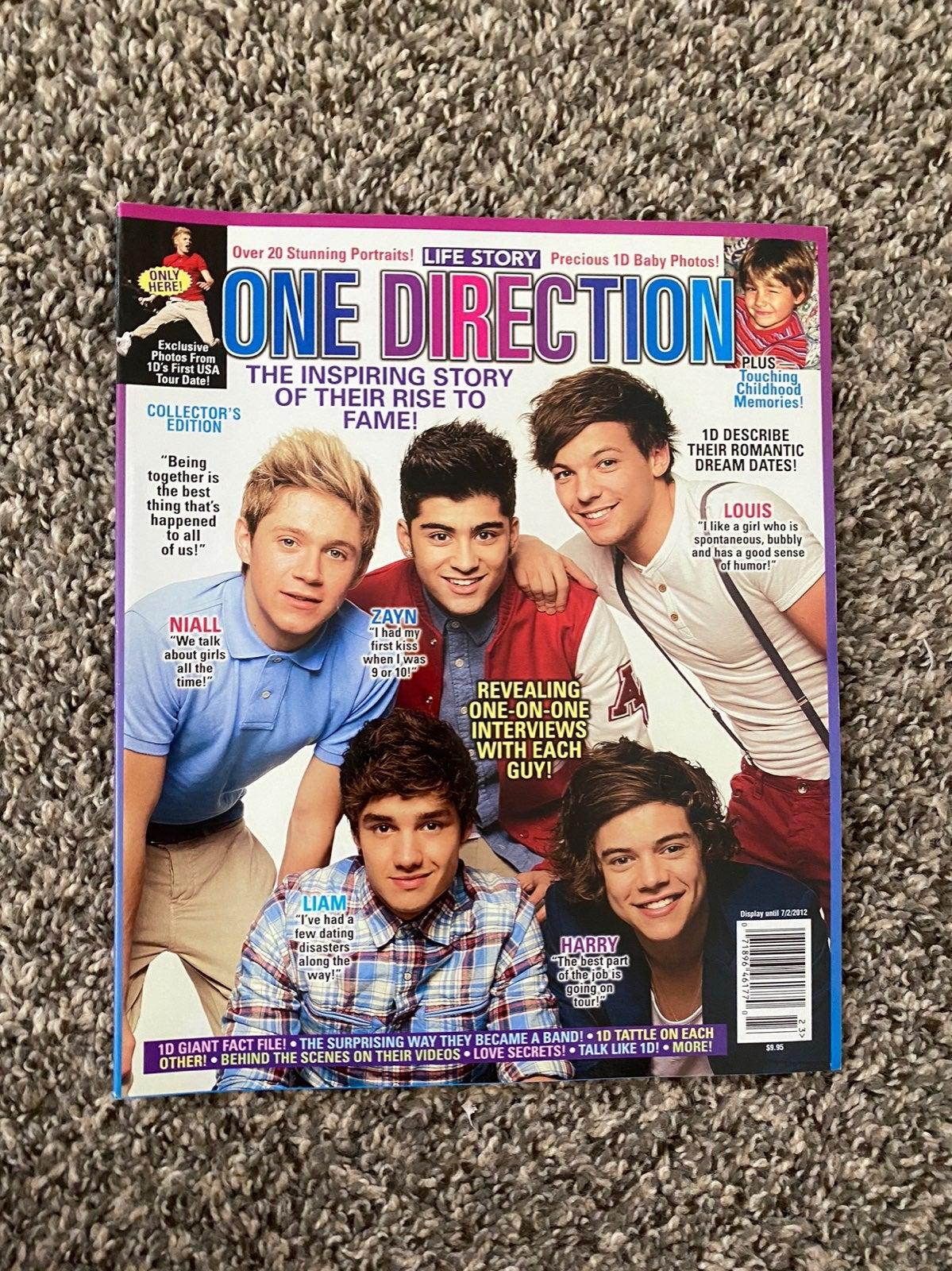 one direction life story magazine