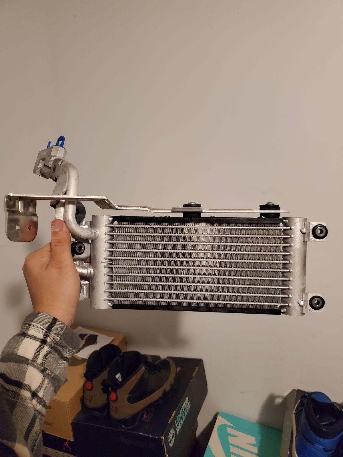 Engine oil cooler n54