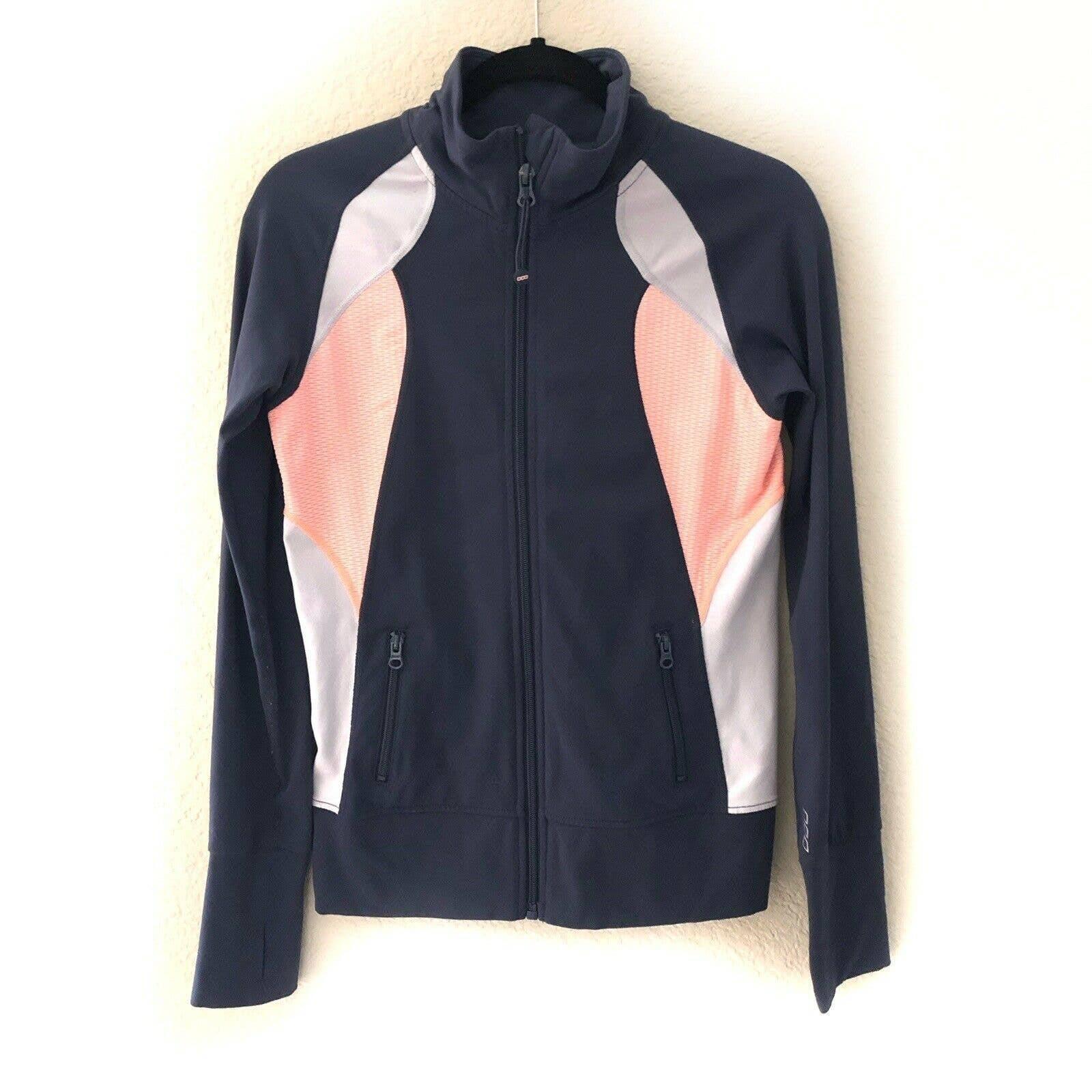 Lorna Jane Gray Activewear Jacket Yoga