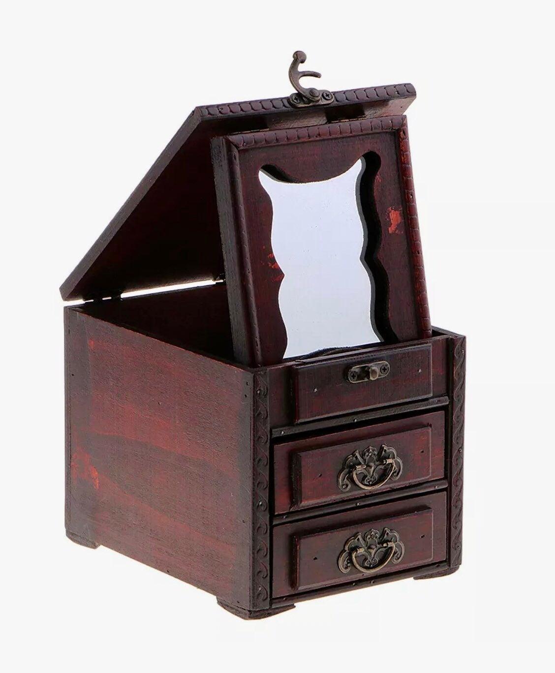 Secret jewelry box