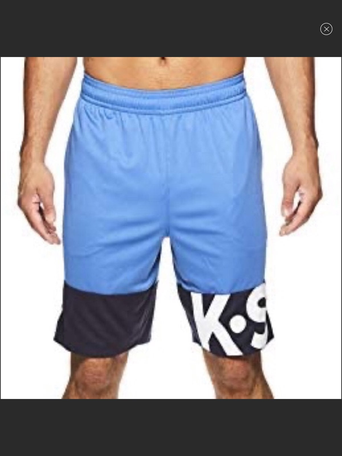 New K.SWISS OUT OF LINE SHORT Federal bl