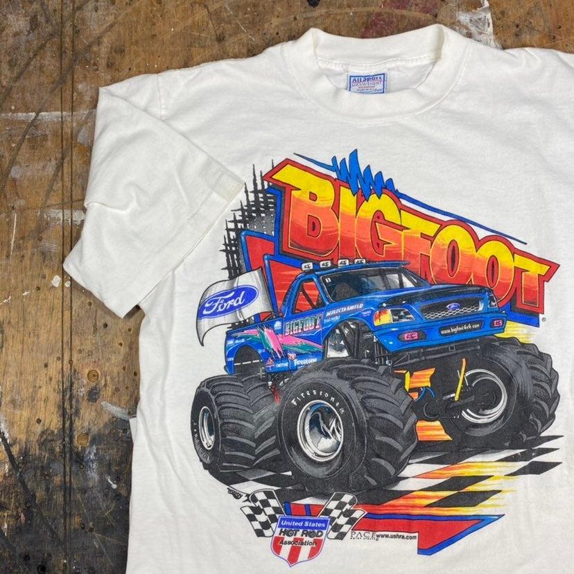 Vintage 90s Bigfoot Monster Truck Shirt
