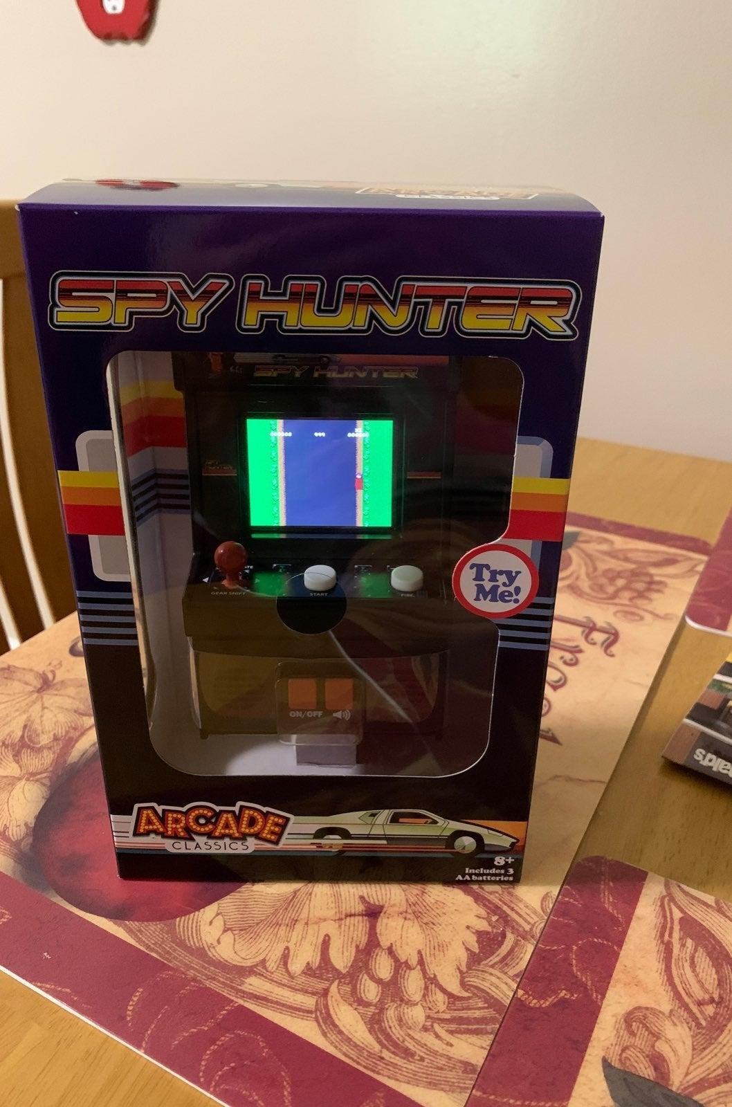 New Spy Hunter Handheld Arcade Game