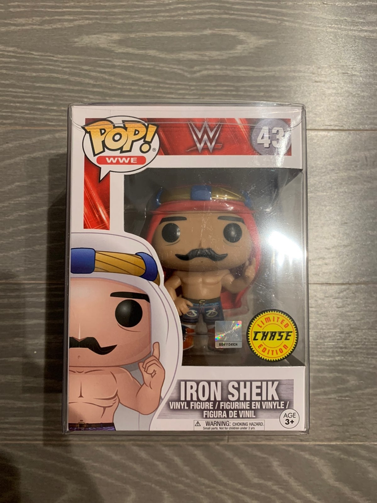Funko Pop Iron Sheik Chase WWE