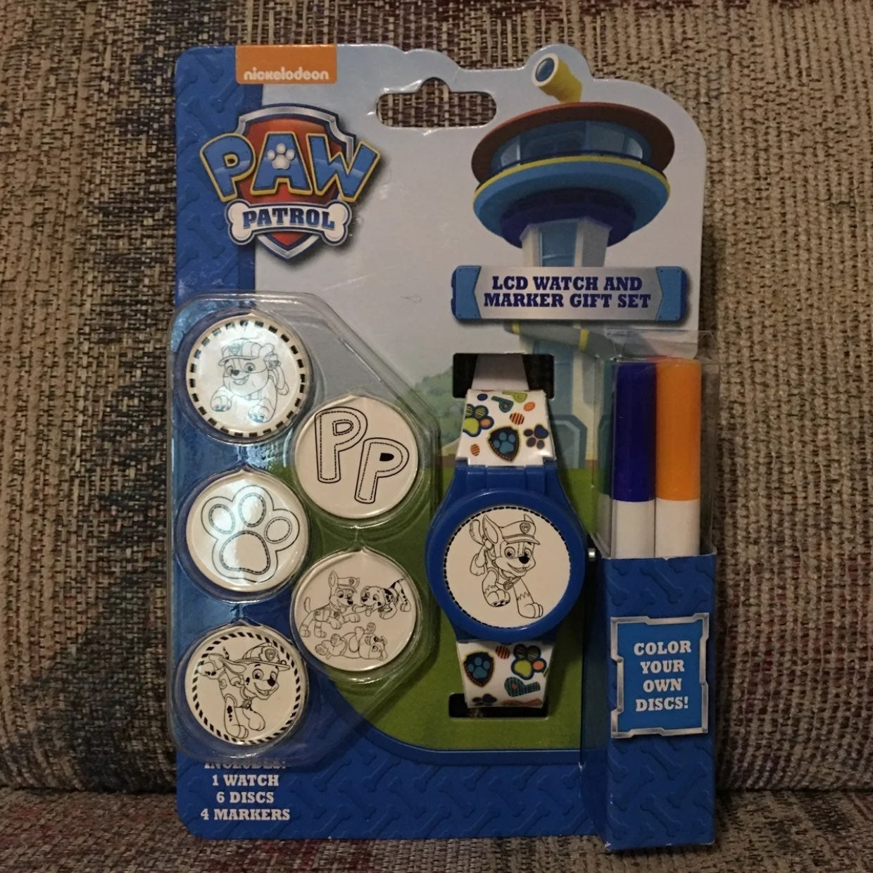 Paw Patrol Watch LCD Marker Set