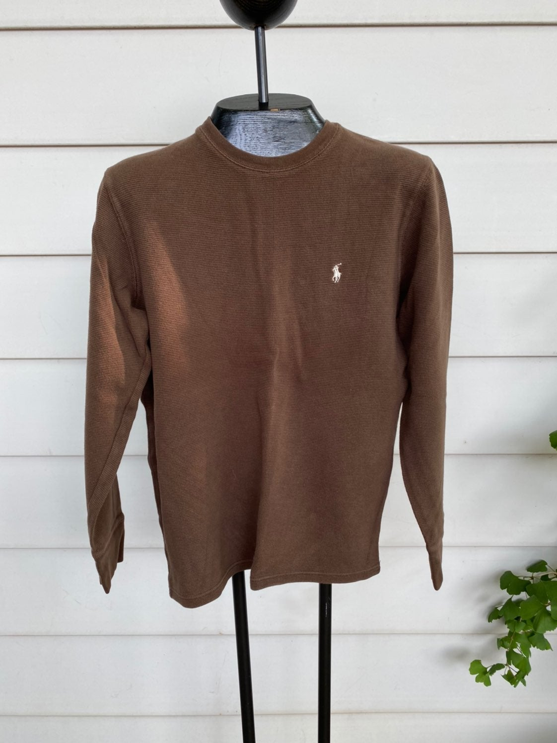 Polo heavy thermal shirt size small