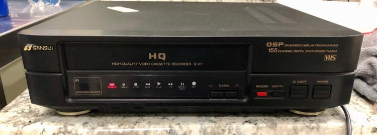 Used Vintage VHS Player