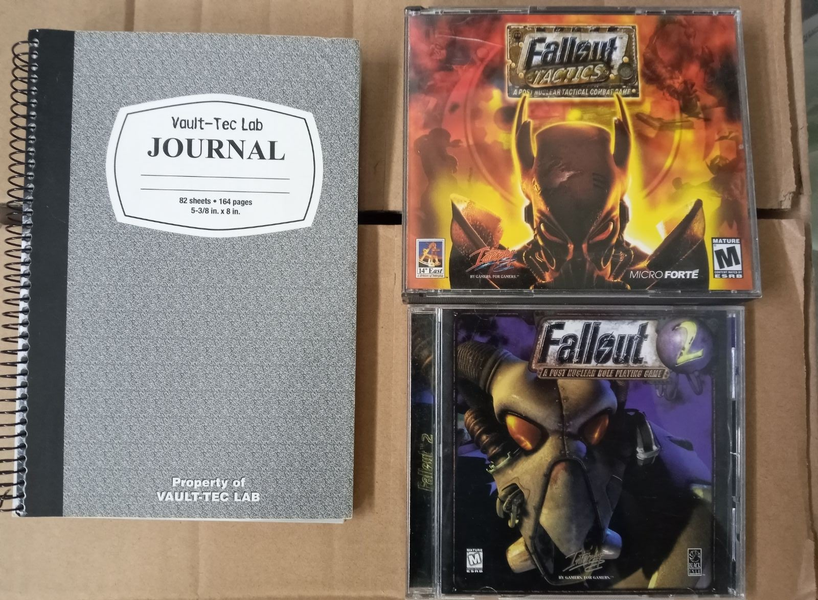 Vintage PC FALLOUT Game Collection