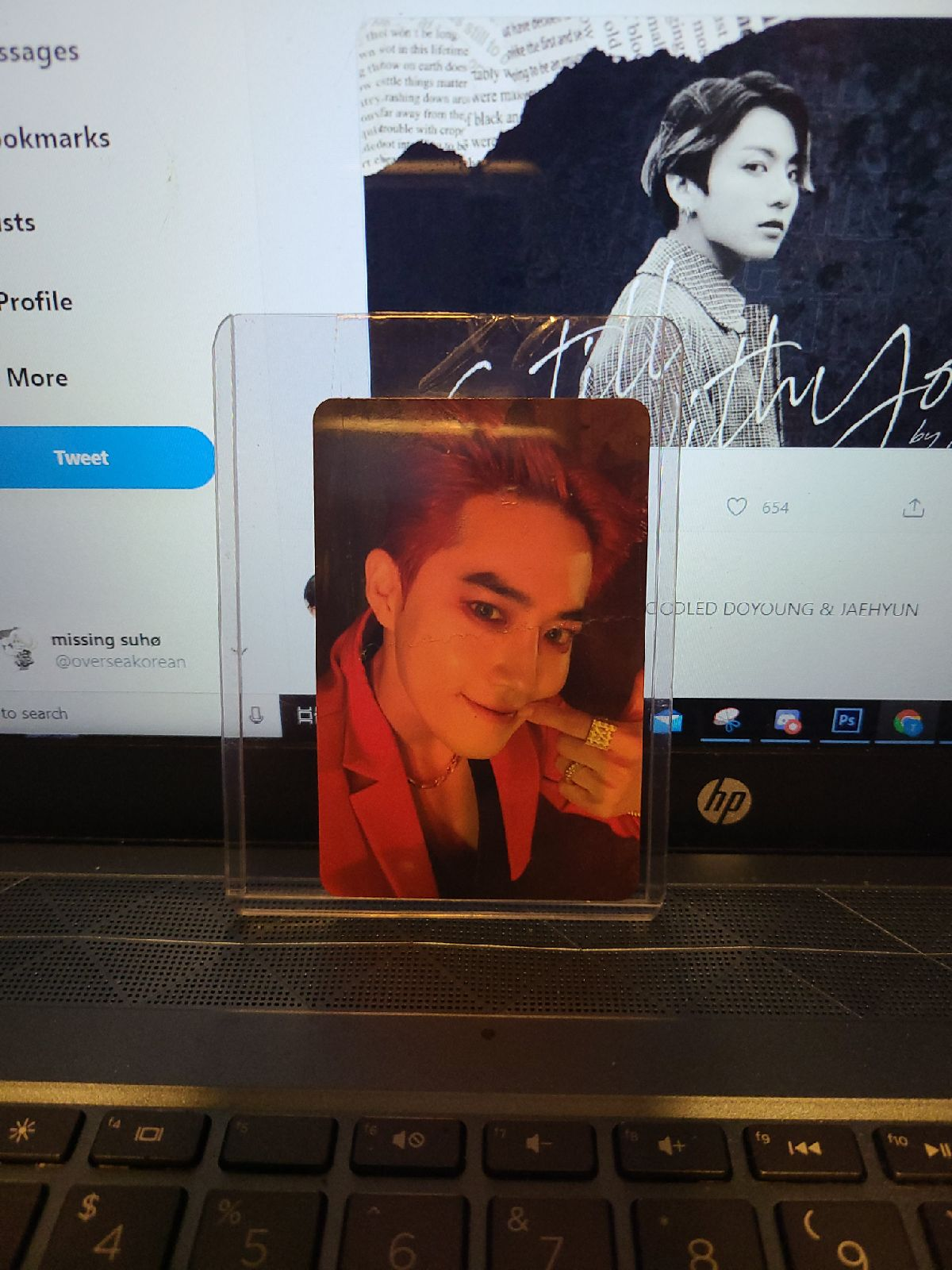 Suho obsession photocard