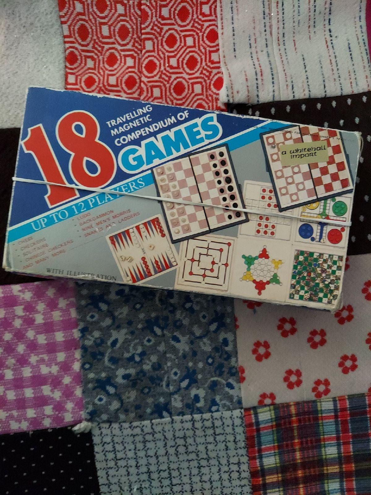 Vintage travel GAMES
