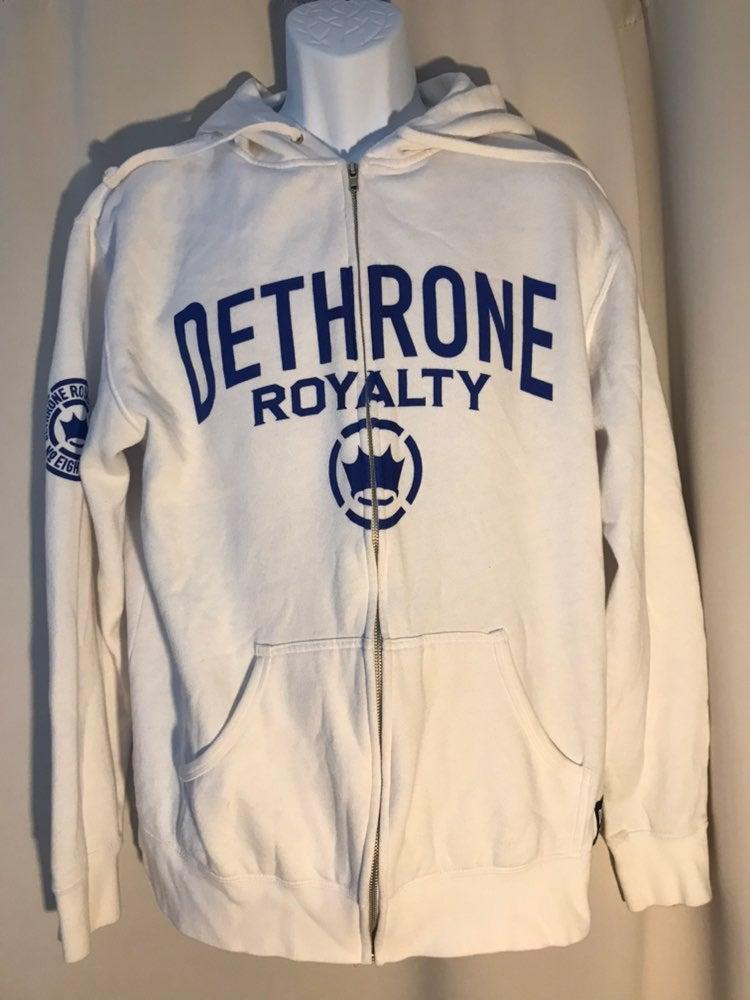 Dethrone Royalty MMA sweatshirt, Size XL
