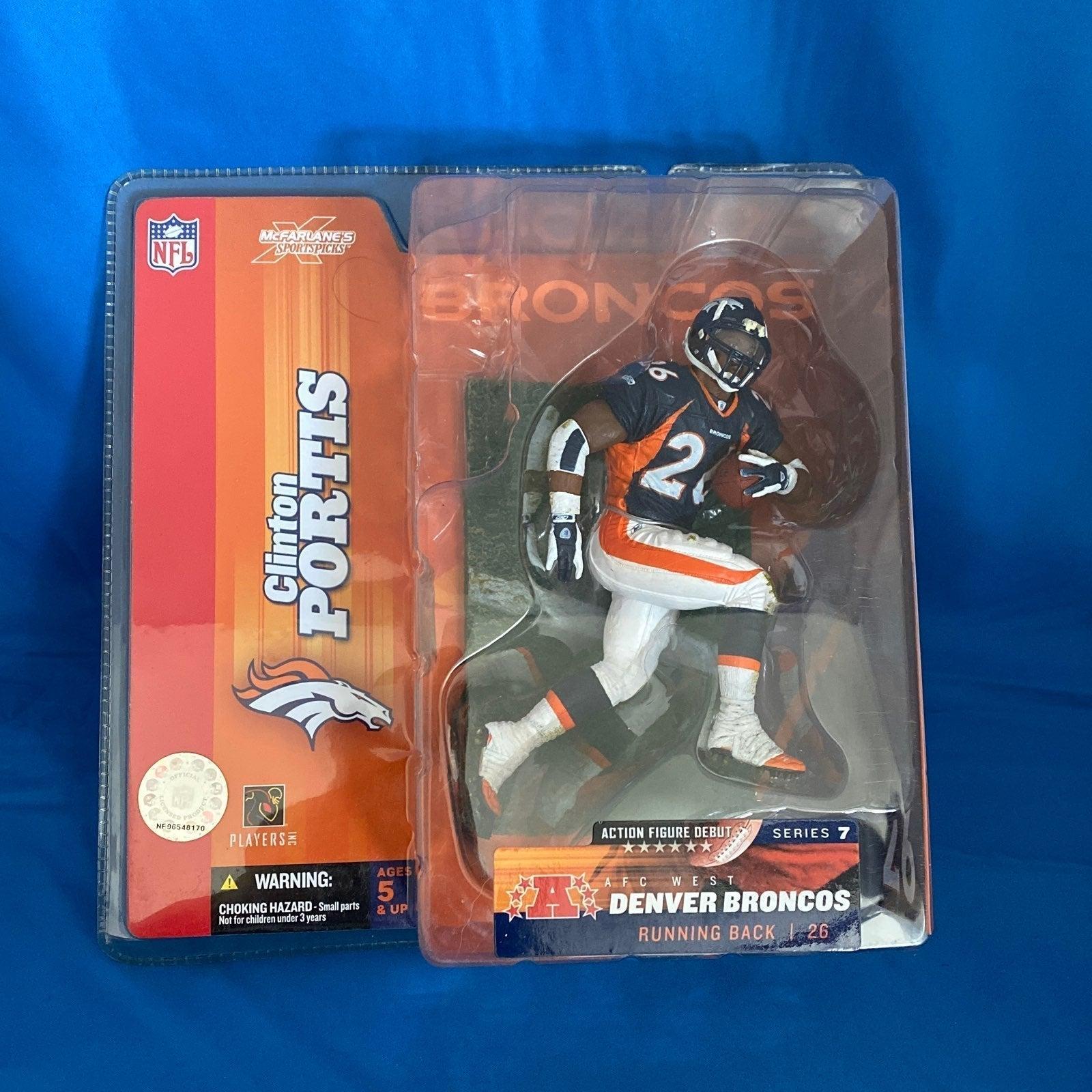 Clinton Portis Denver Broncos McFarlane