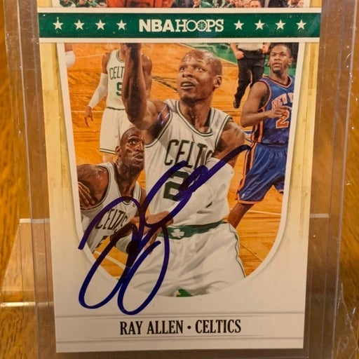 Ray Allen Autographed Card