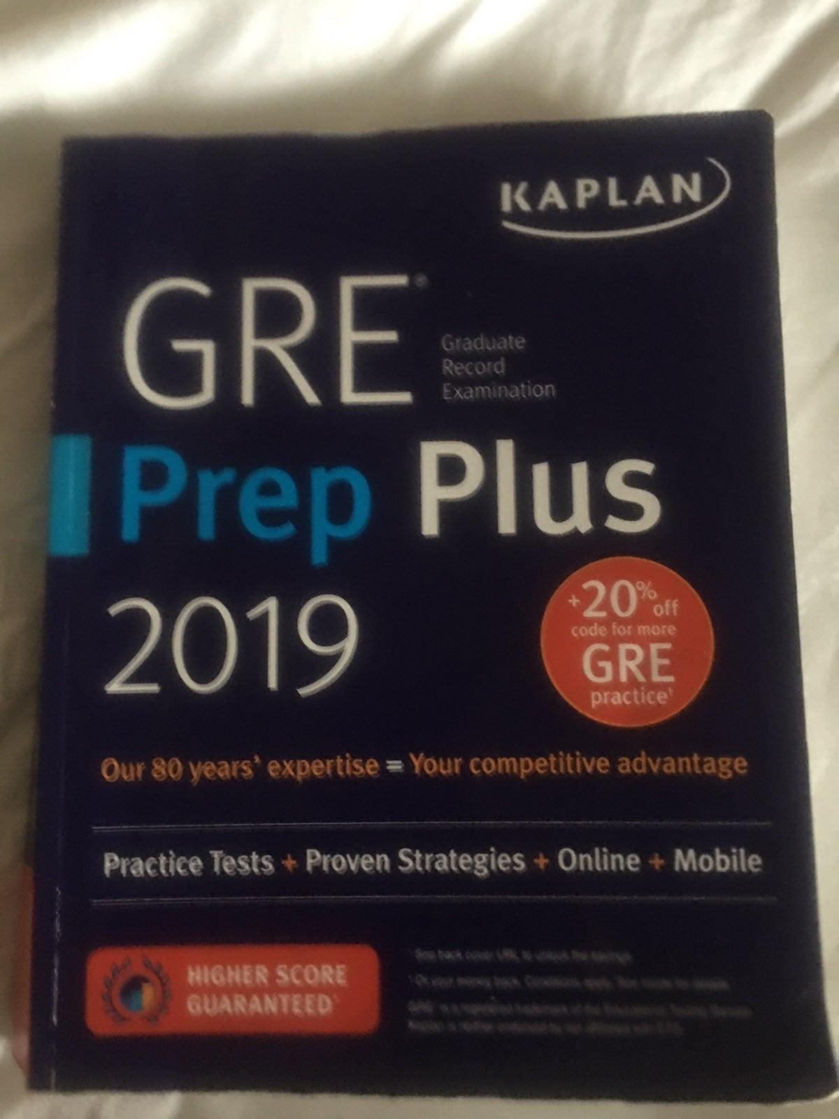 GRE PREP plus 2019 edition