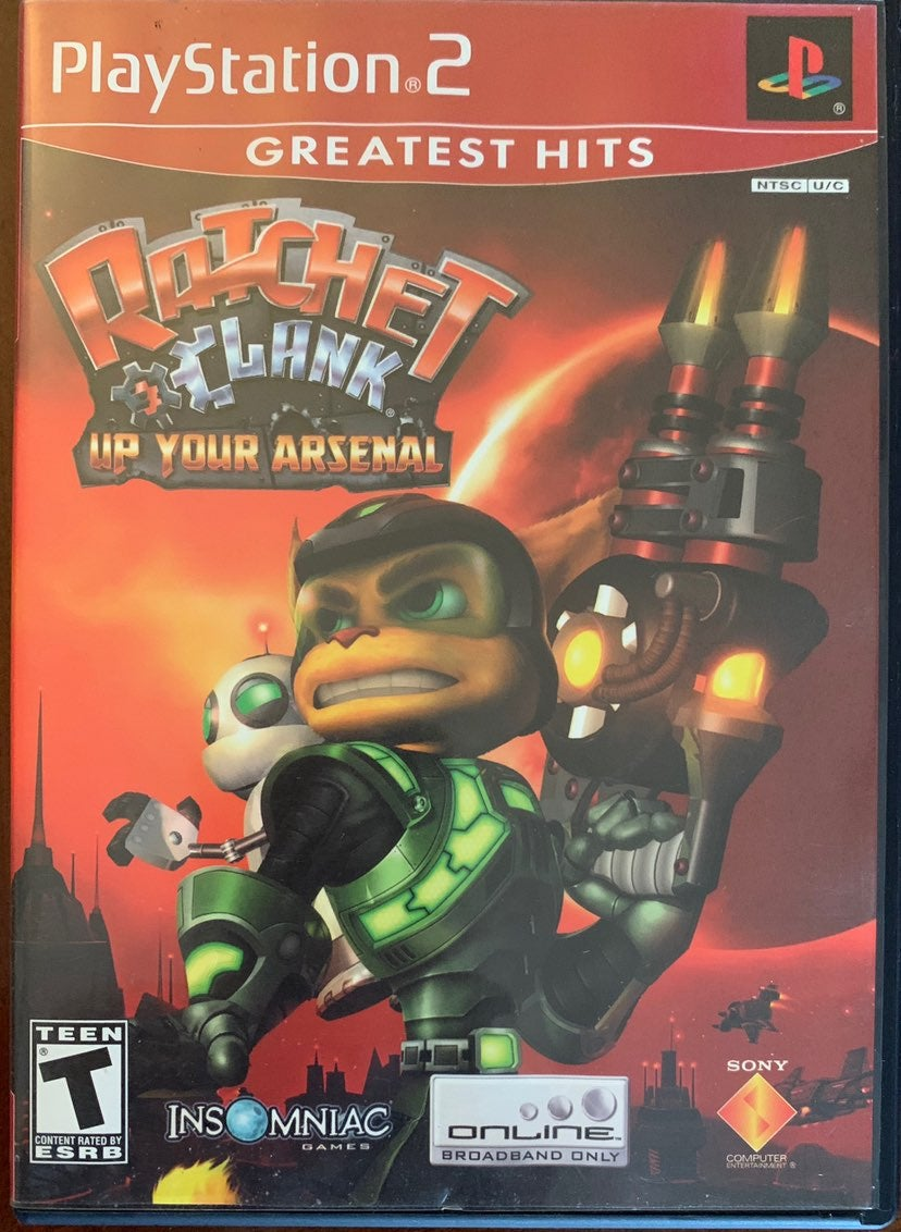 Ratchet & Clank Up Your Arsenal PS2