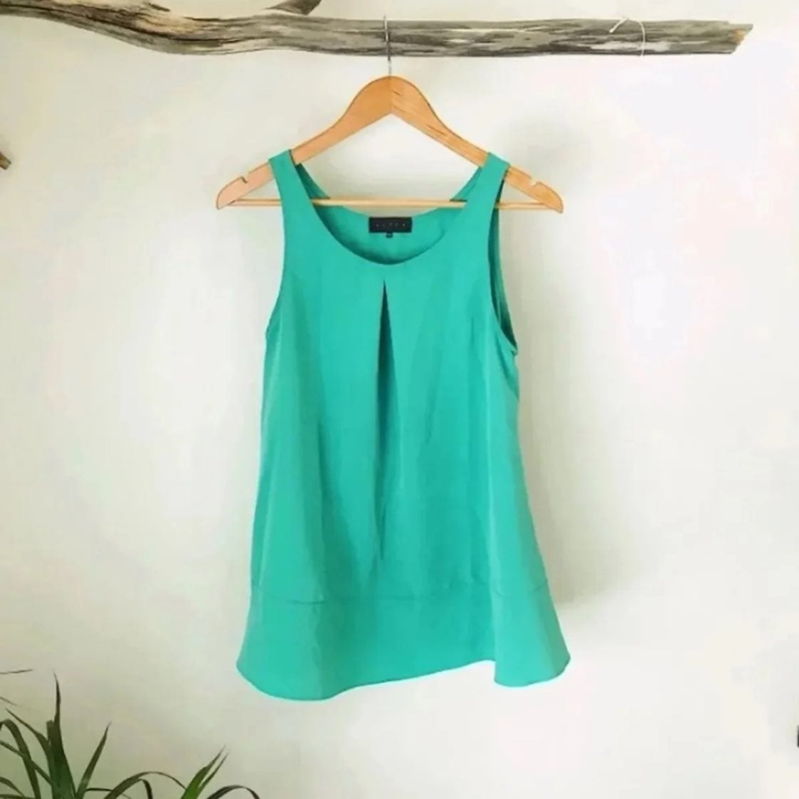 Hatch Maternity Swing Blouse OS Green