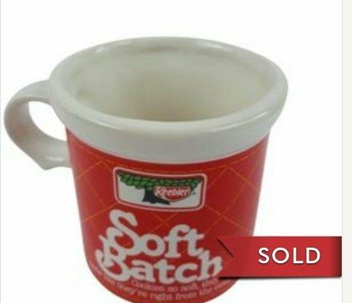 VTG Keebler soft batch cookie coffee mug